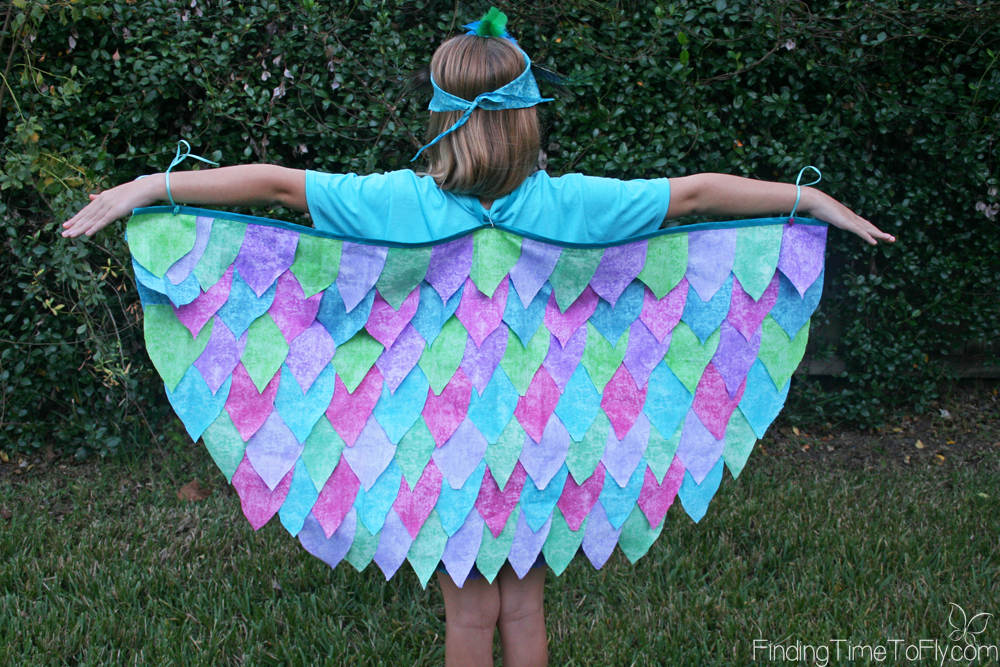 Step-by-step instructions to create the quickest DIY No Sew Bird Costume ever. This entire costume was assembled in about 2 hours!