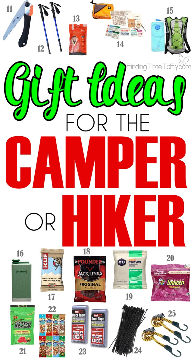 35 gift ideas for the outdoorsman camper hiker