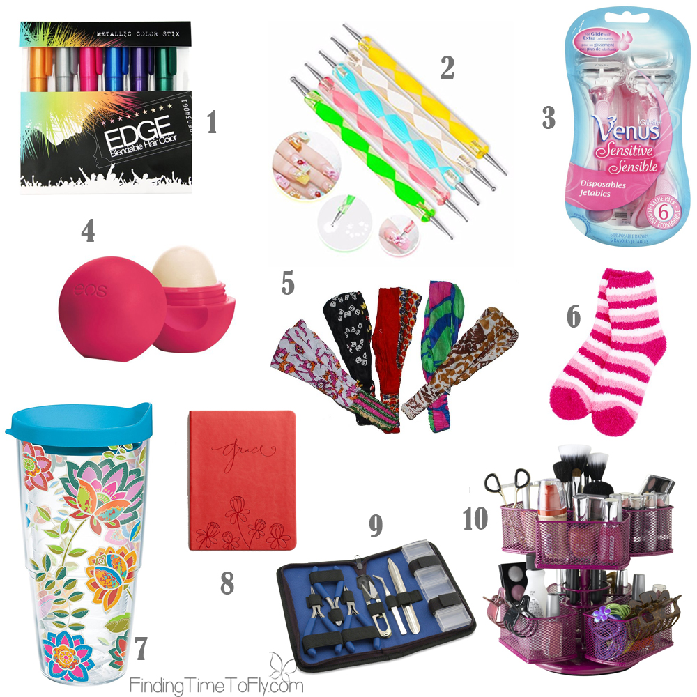 Saving this list of Stocking Stuffer Ideas for Teenagers. What a great list for teen girls!