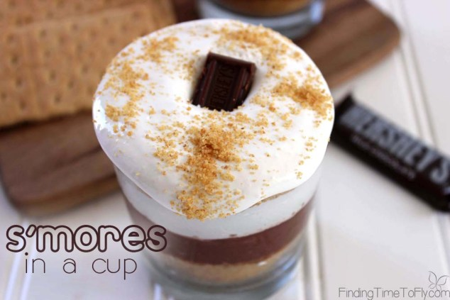 S'mores In A Cup