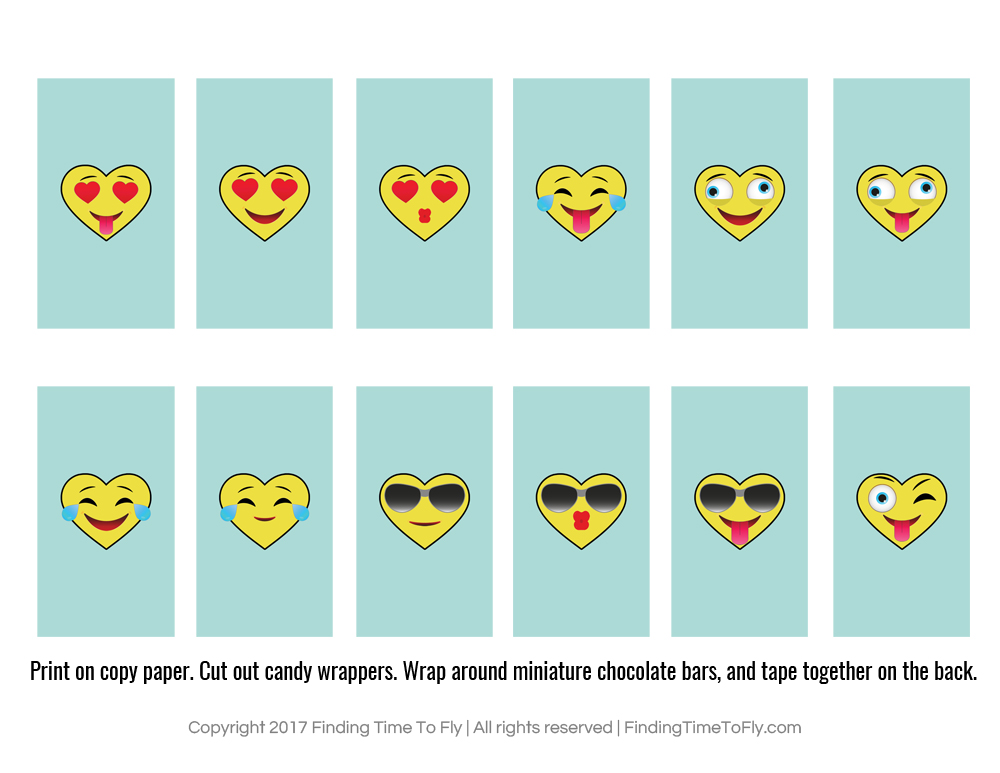 These printable emoji valentines are perfect for older kids. My daughter will love being able to include emojis with her valentine cards. So cute!