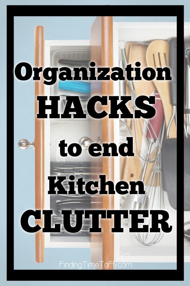 Kitchen Organization Hacks to End Kitchen Clutter