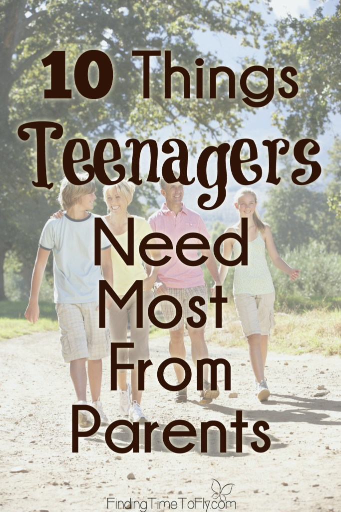 Love these practical parenting tips of things teenagers need most from parents.