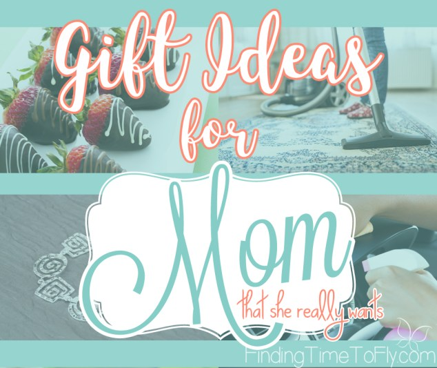 This list makes it easier to pick out gifts for your Mom that she really wants. Great gift ideas for Mother's Day, Mom's birthday or Christmas gifts for Mom!