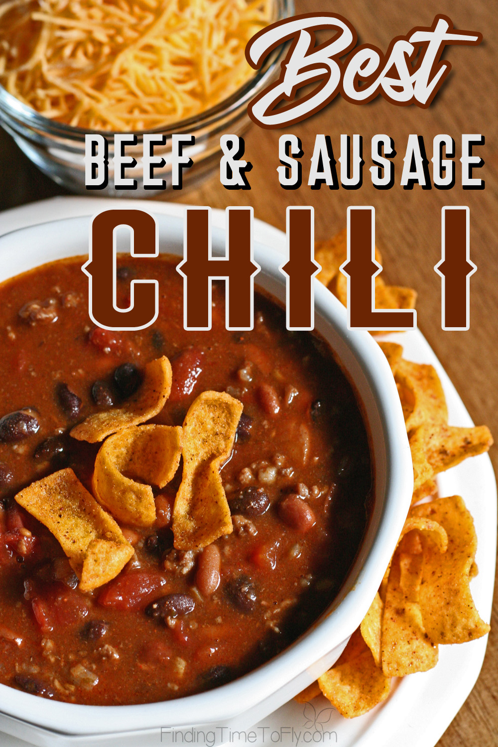 The Best Beef and Sausage Chili recipe was created by studying numerous award winning chili recipes. We chose our favorite ingredients, and this chili was born!