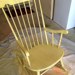 Diy Rocking Chair Kit Wheelchair Olympics Spray Painted Find It Make Love
