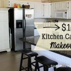 Kitchen Cabinet Makeovers Chair 150 Makeover Find It Make Love Painted Cabinets Diy