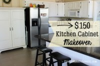 $150 Kitchen Cabinet Makeover - Find it, Make it, Love it