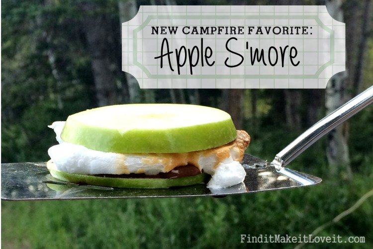 Campfire Apple S'more-Gluten free s'more (2)