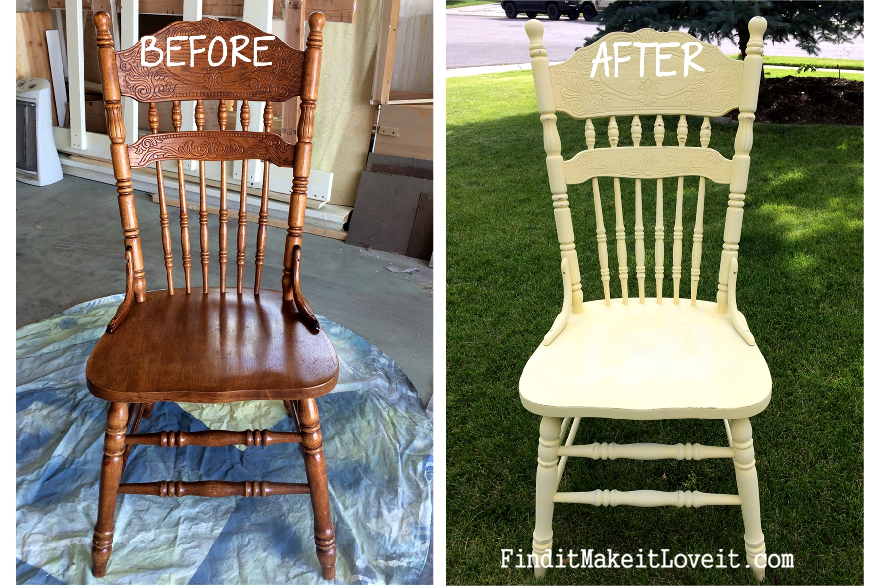 Chalk Paint Chairs Re Finished Chairs Diy Chalk Paint Find It Make It