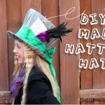 DIY Mad Hatter Hat and Costume