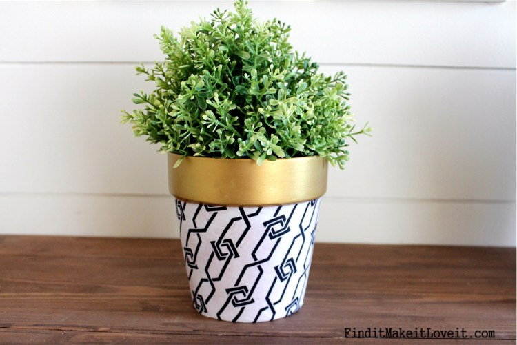 Upcycled Dollar Store Pots (11)