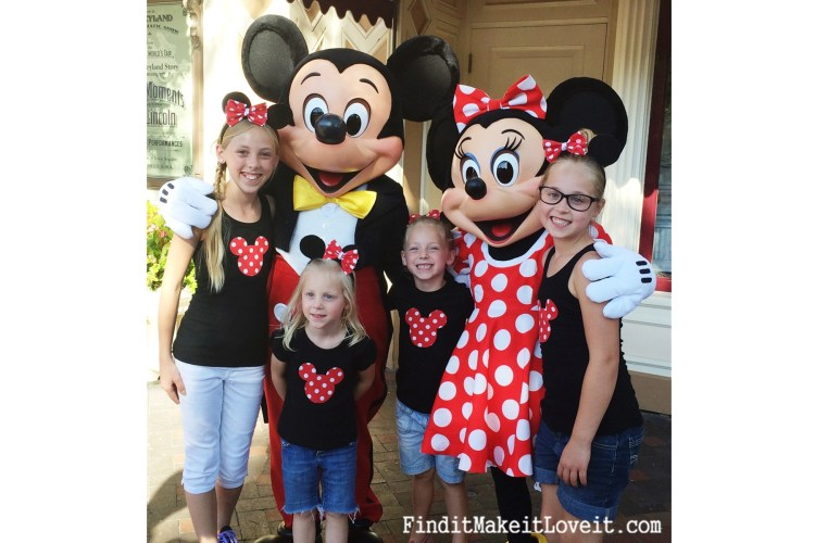 DIY Mickey or Minnie Mouse Ears (2)