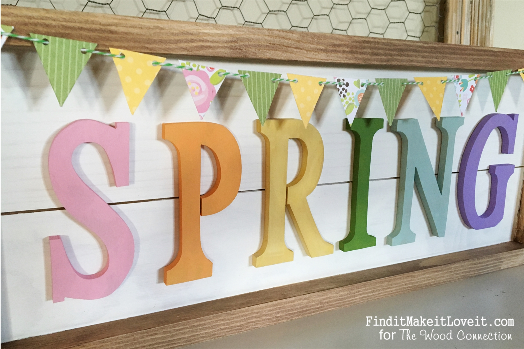 Framed Plank Spring sign (2)