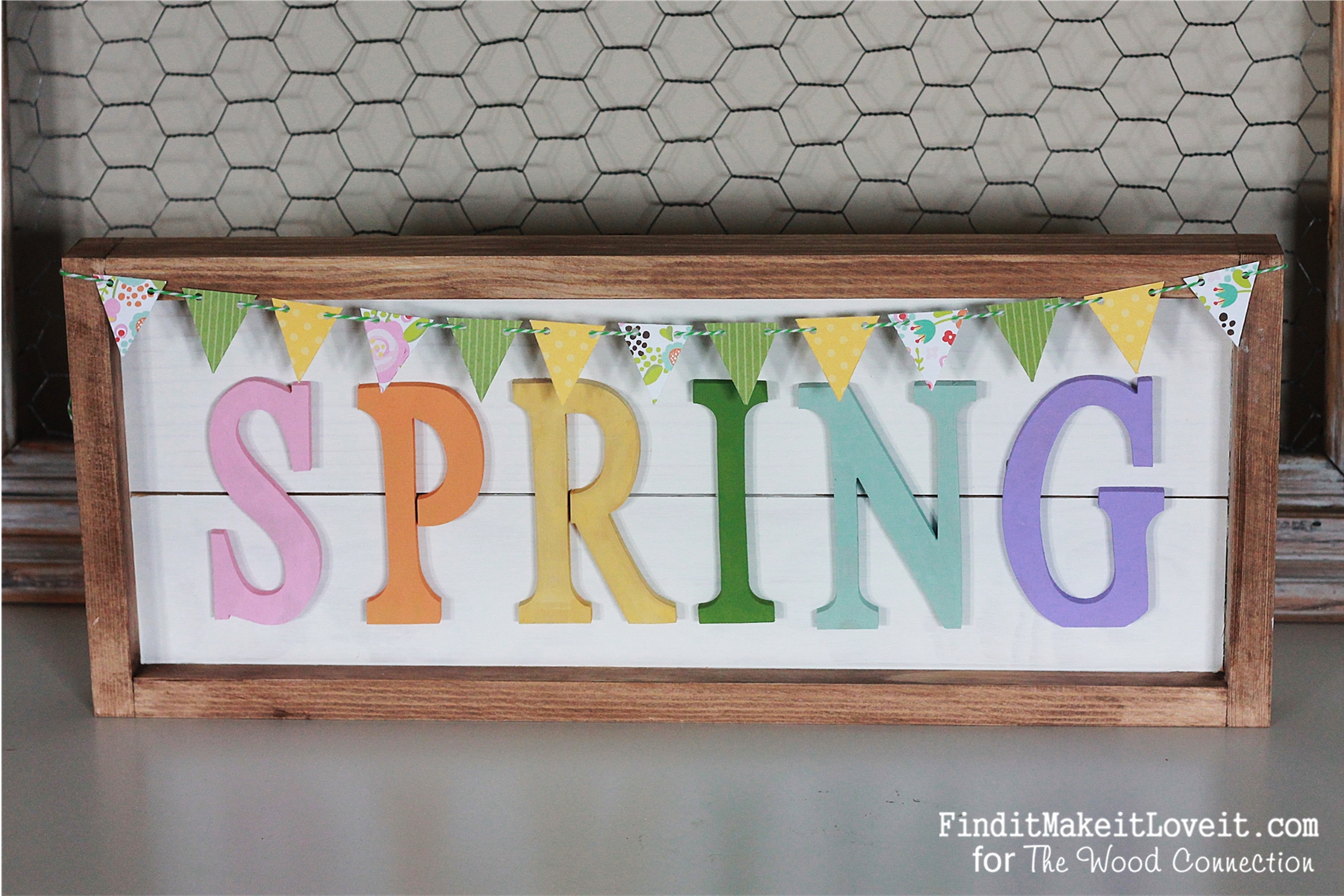 Framed Plank Spring sign (5)