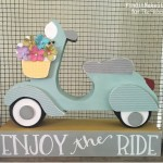 Enjoy the Ride- Scooter Craft