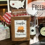 Campfire FREE Printable