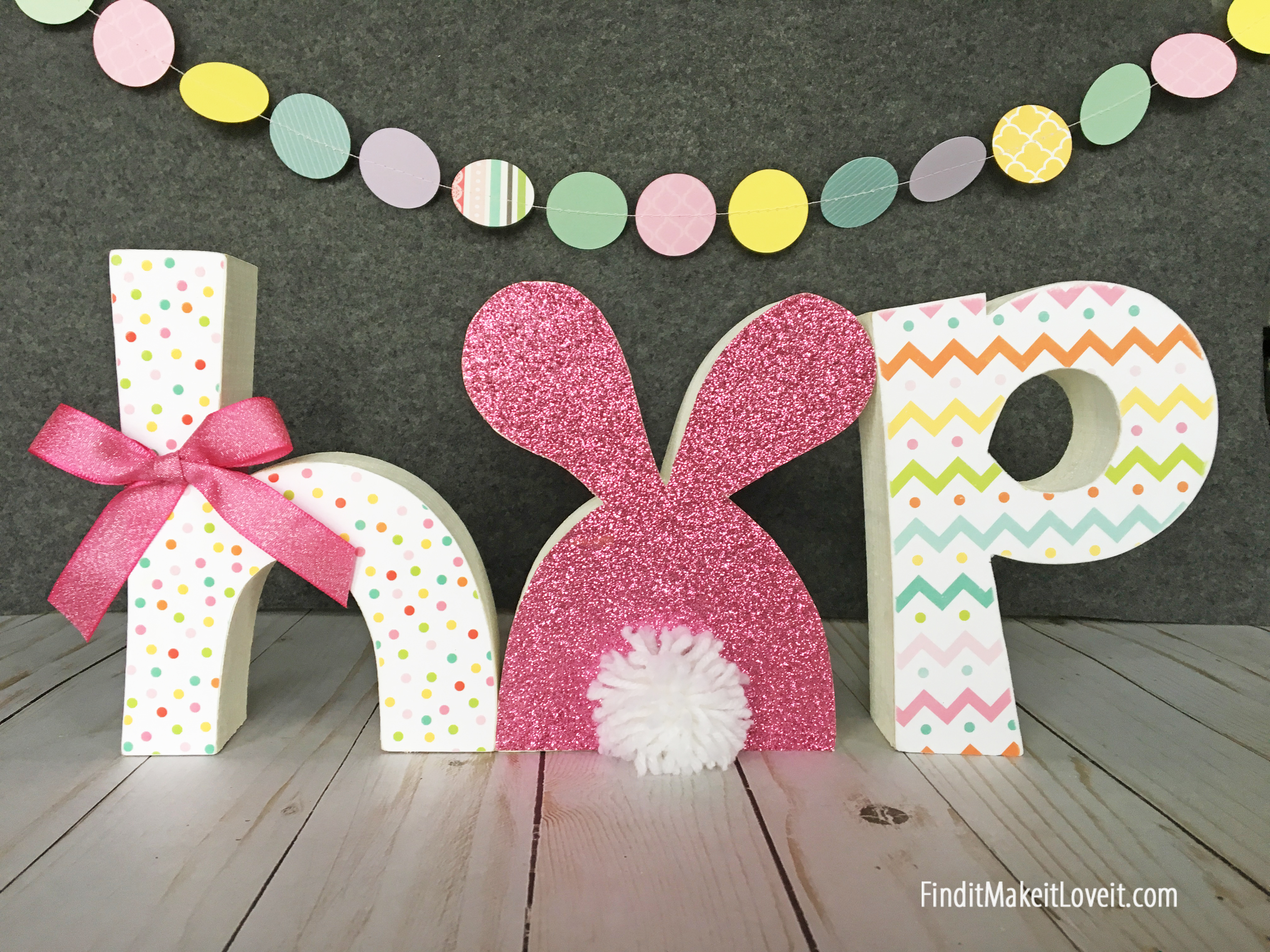 HOP Letter Set for Easter!