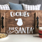 """Cookies for Santa"" Tray"