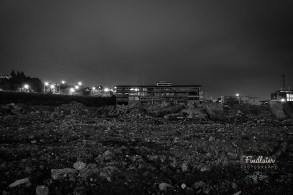 The remains of the old Rugby Stadium in Dunedin - Carisbrook