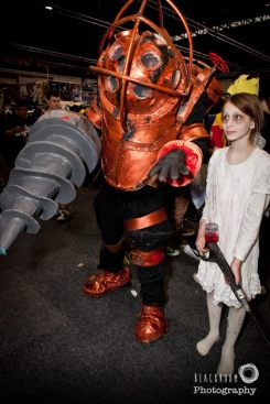 bioshock - big daddy little sister