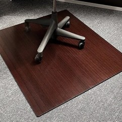 Office Chair Carpet Protector Uk Steel To Buy Top 5 Bamboo Mats Reviewed Effective Way Protect Your Floors Anji Mountain Roll Up Mat