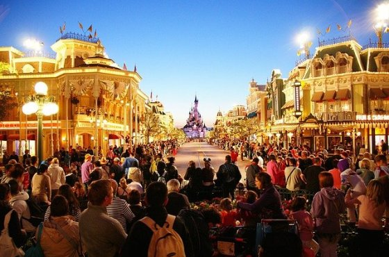 Entertainment at Disneyland