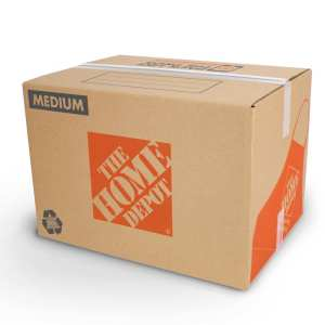 Moving Box From Home Depot