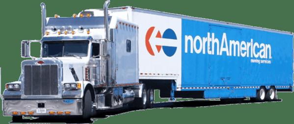 North American Van Lines Moving Truck