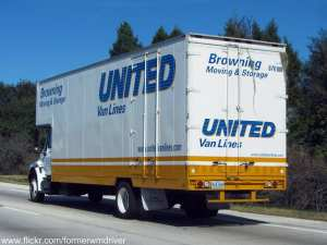 United Van Lines Moving Truck