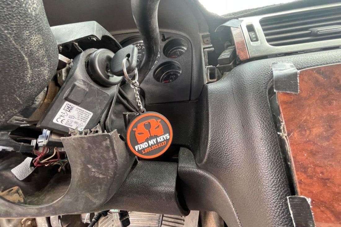 Key won't turn in ignition