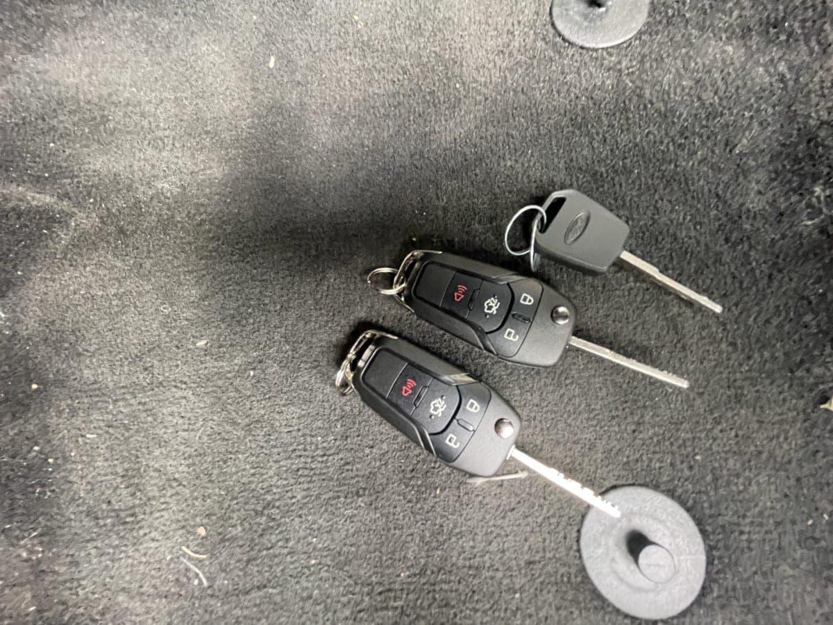lost ford key