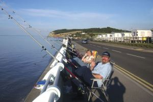 Fishing at Hoburne Blue Anchor - Hoburne Blue Anchor Holiday Park