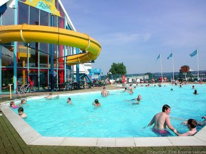 Combe Haven Outdoor Swimming Pool - Combe Haven Holiday Park