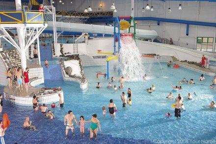 Craig Tara Indoor Pool - Craig Tara Holiday Park