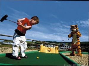 Crazy Golf at Doniford Bay - Doniford Bay Holiday Park