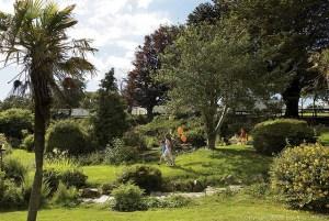 Gardens at Hafan y Mor - Hafan y Mor Holiday Park