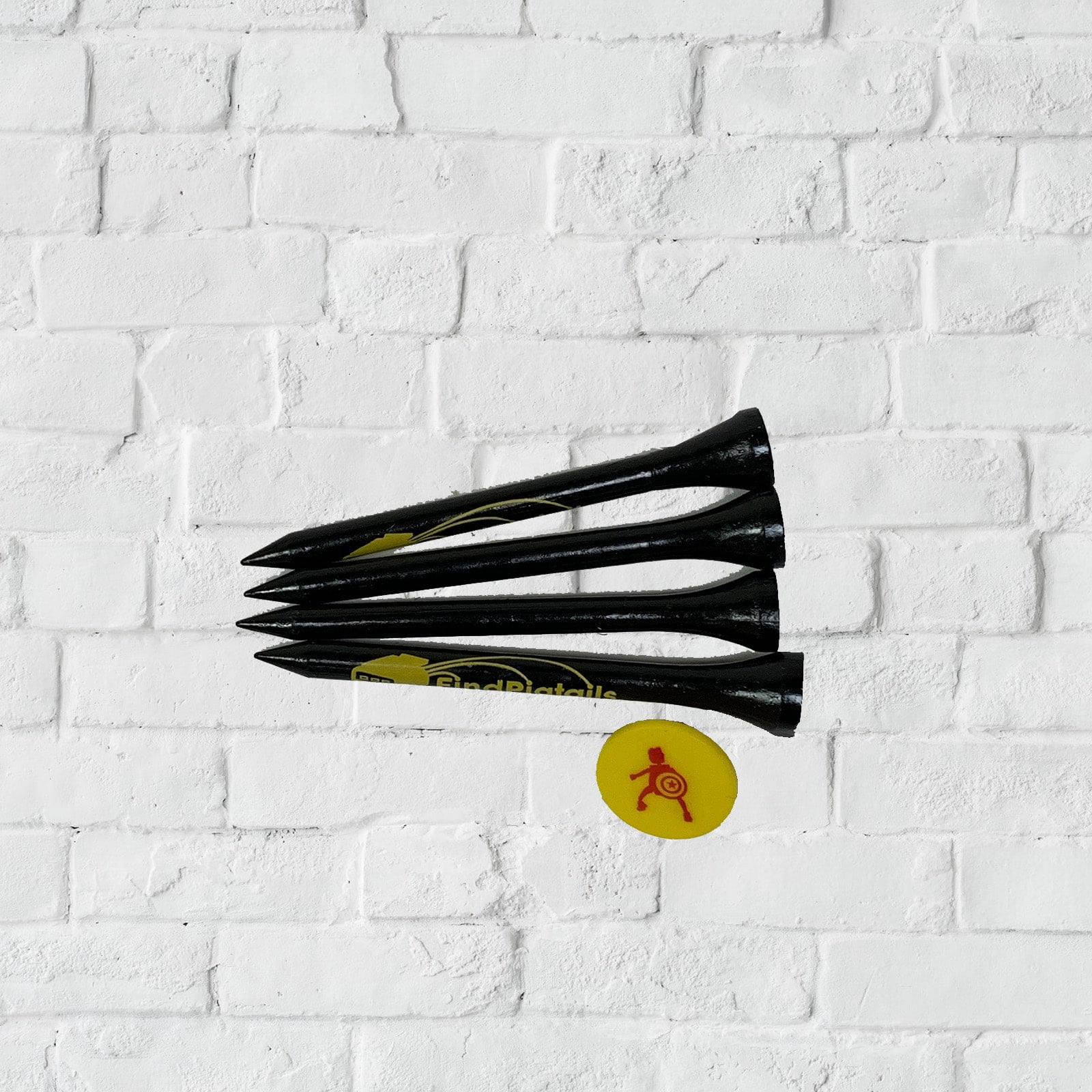 Golf Tees 4 With Marker