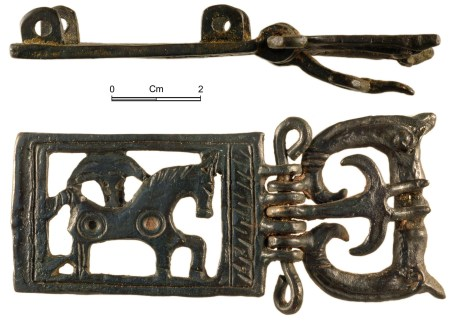 Complete Roman buckle (NMGW-1ED1A1)