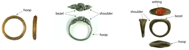 The various parts of a finger-ring (HESH-B61048, NARC-3AE845 and SF-DFFF00)