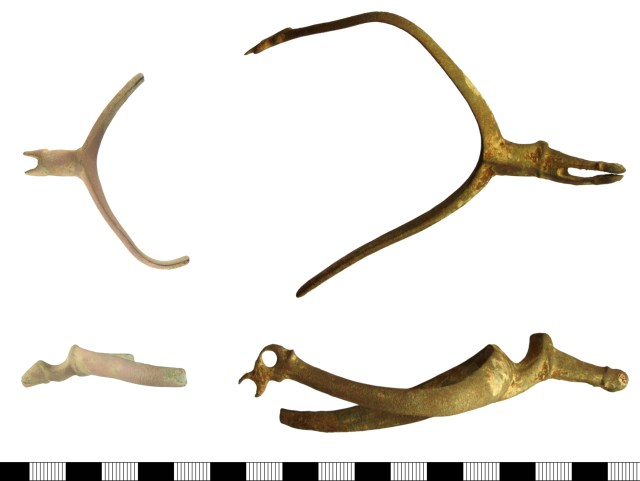 Two early 17th-century spurs from Devon (DEV-CC9F11 and DEV-73C0BD)