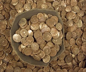 Coins & pot