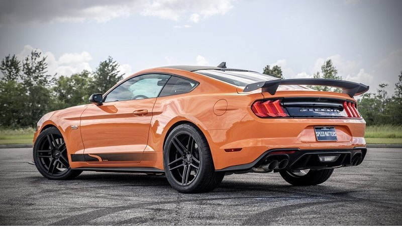 Steeda Q850 StreetFigther Edition 2020, un Ford Mustang GT con 800 caballos