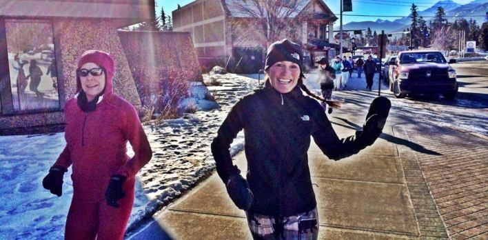 Tracy Garneau leading the pack