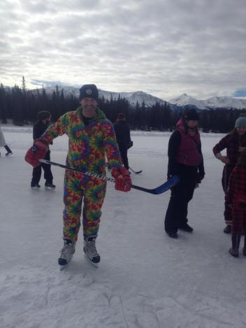 Ryan playing PJ Hockey