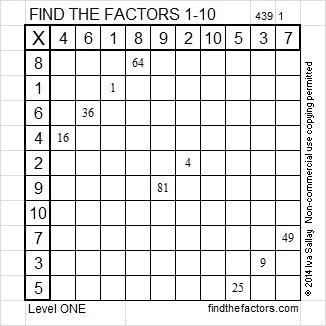 2014-39 Level 1 Factors
