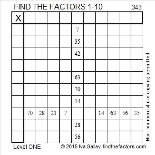 343 Puzzle