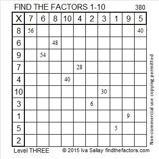 380 Factors