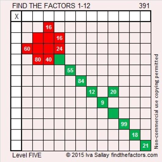 391 Puzzle