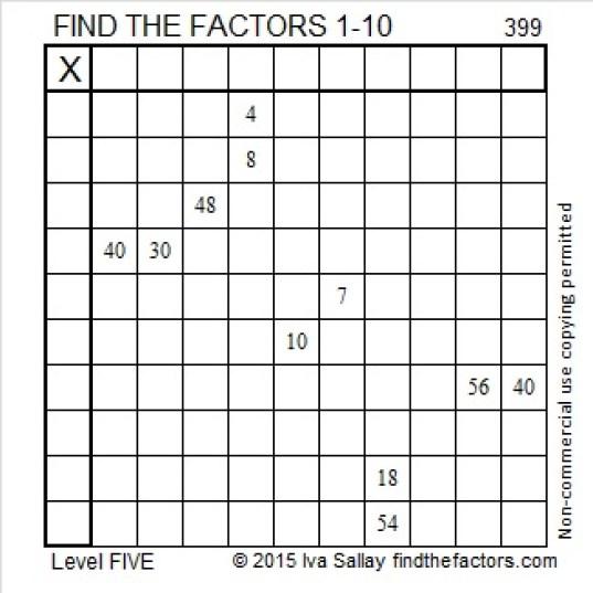 399 Puzzle